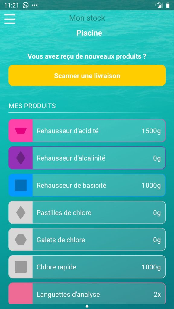 iopool eco app stock