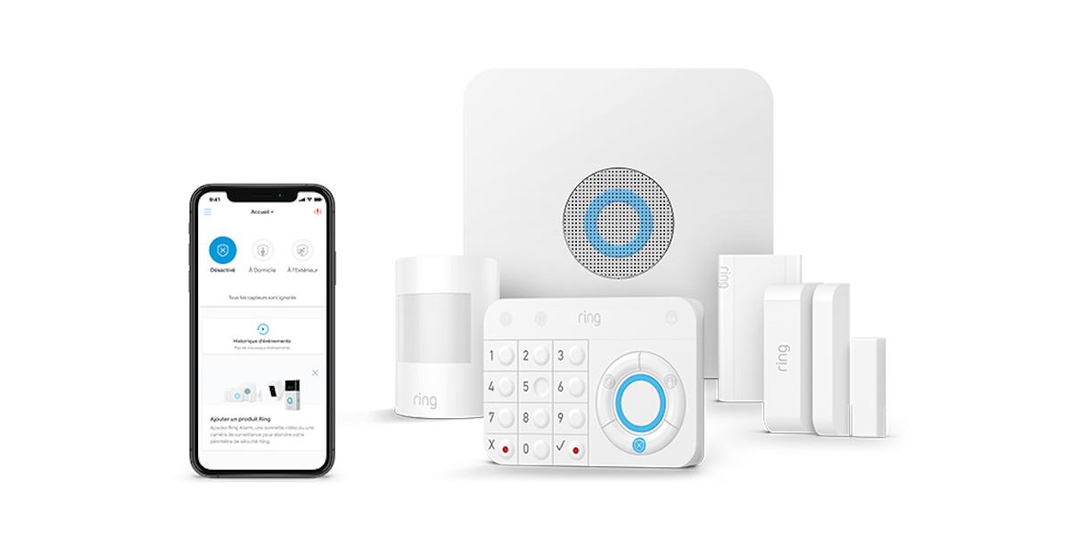 Le système d'alarme Z-Wave Ring Alarm arrive en France