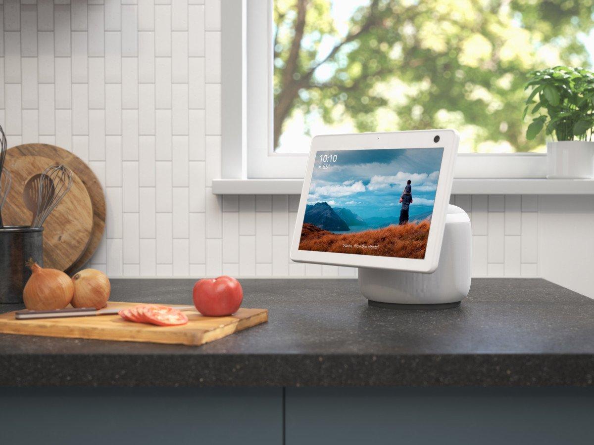 Amazon dévoile ses nouveaux appareils Echo, dont un modèle motorisé…