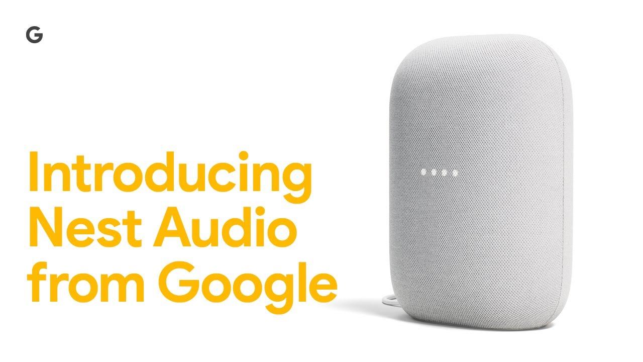Nest Audio : la nouvelle enceinte connectée de Google
