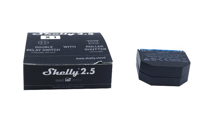 Module Wi-Fi deux sorties Shelly 2.5