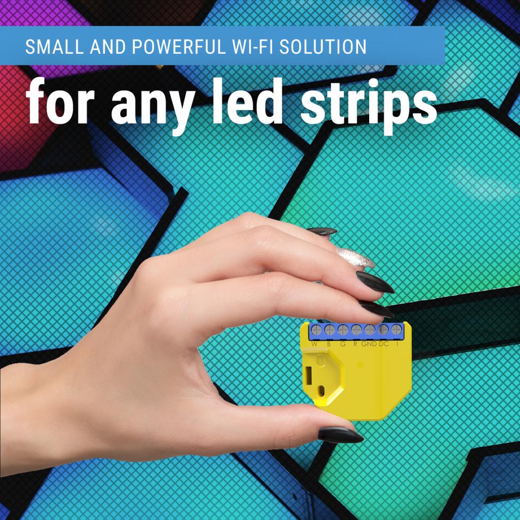 Module Wi-Fi pour bandeau LED RGBW Shelly RGBW