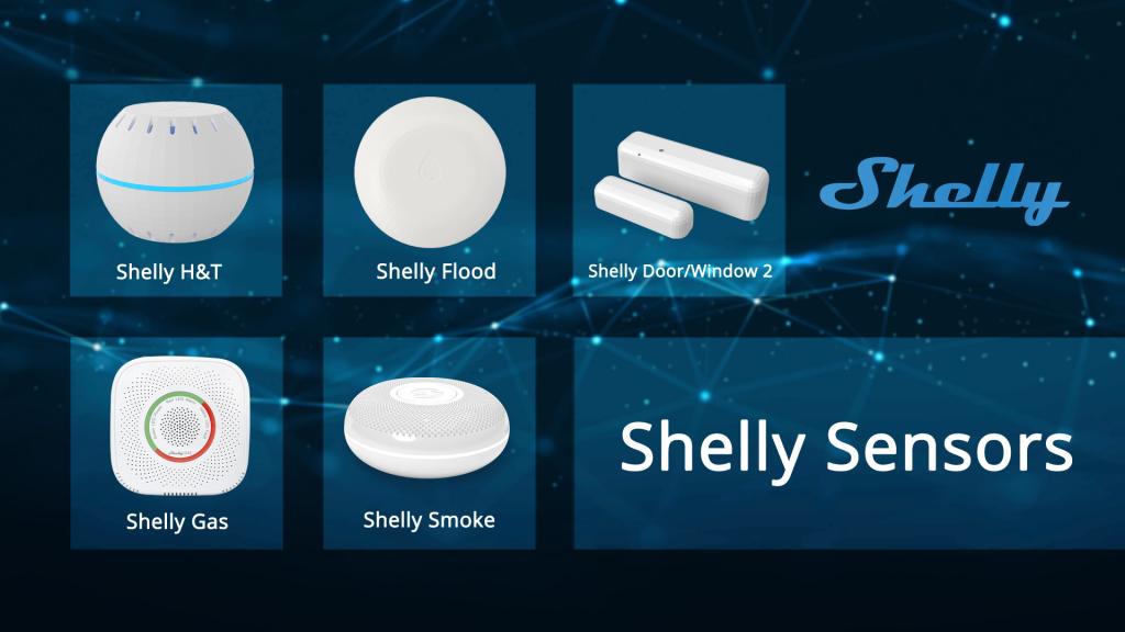 shelly sensors
