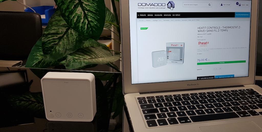 Chauffage et domotique : Découverte du thermostat Z-wave sans fil Heatit