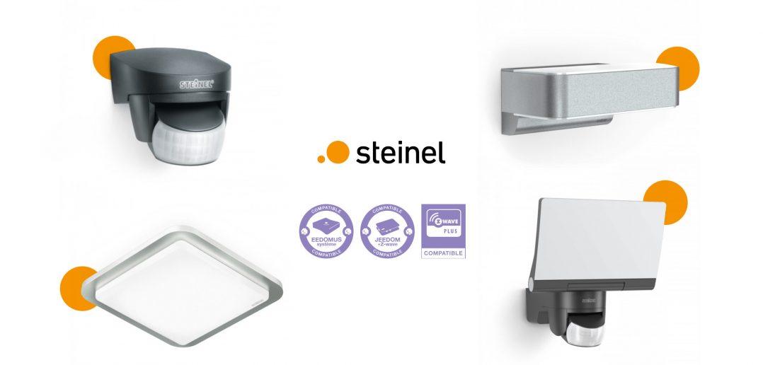 Découvrez la gamme de détecteurs de mouvement intelligents Steinel