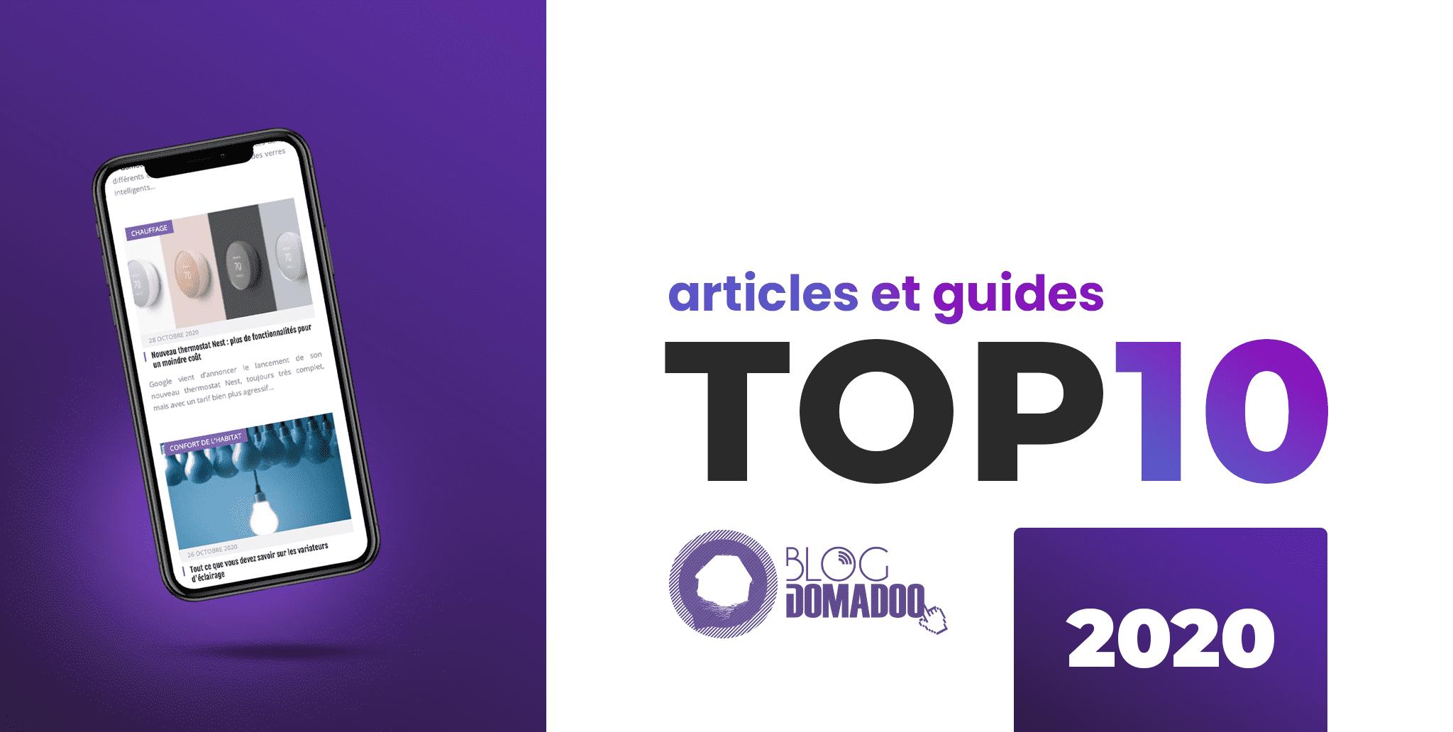 Top 10 des articles et guides du blog en 2020