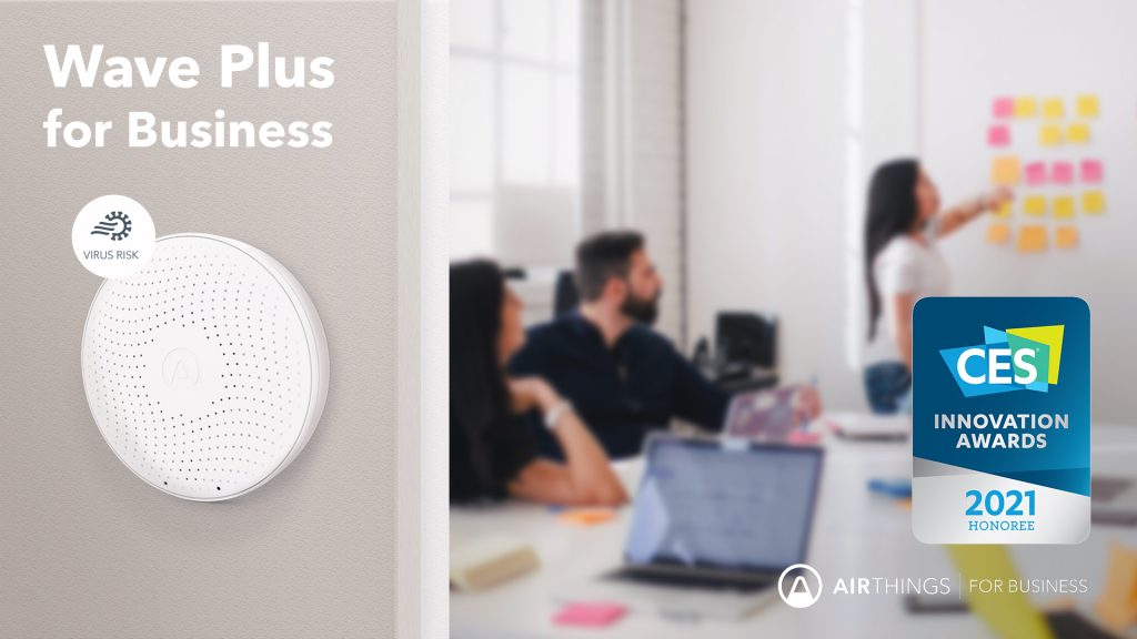 Airthings Wave Plus for Business