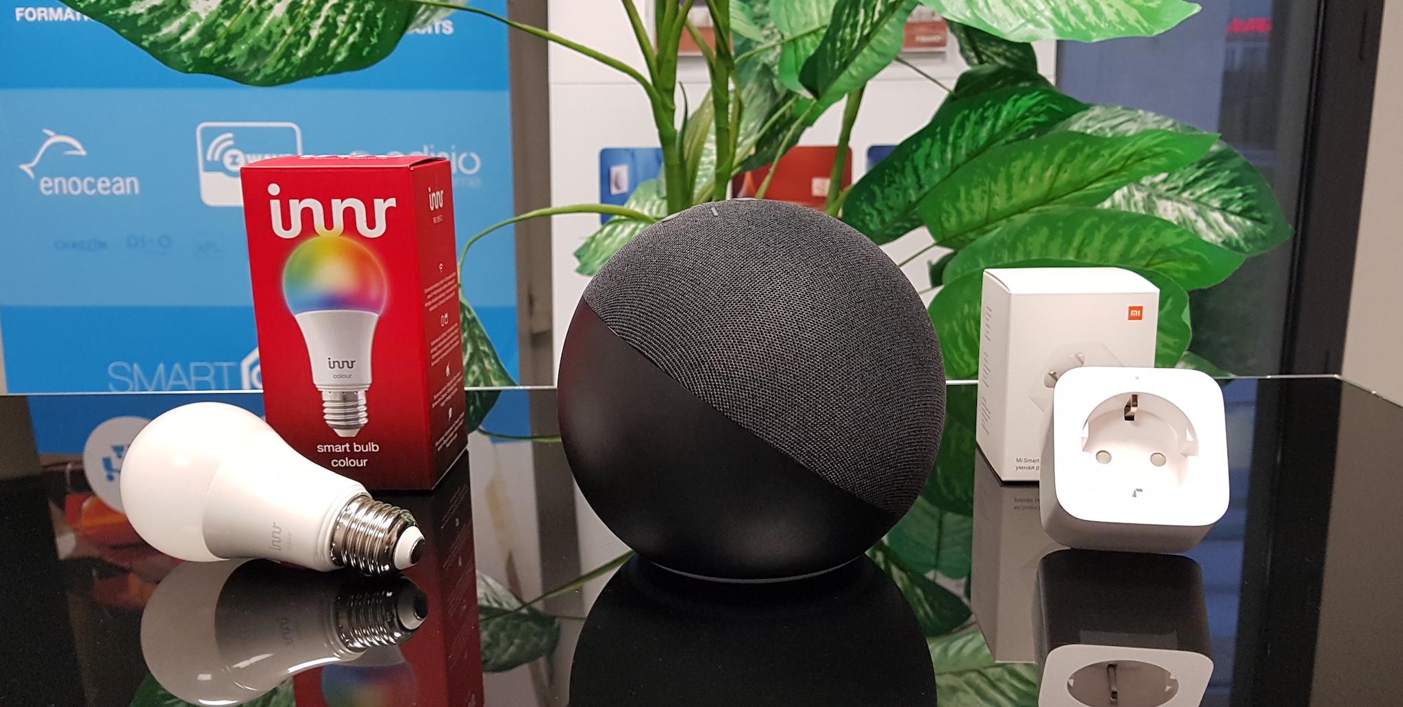 Contrôlez votre domotique Zigbee en toute simplicité avec le nouvel Echo (4e génération) !