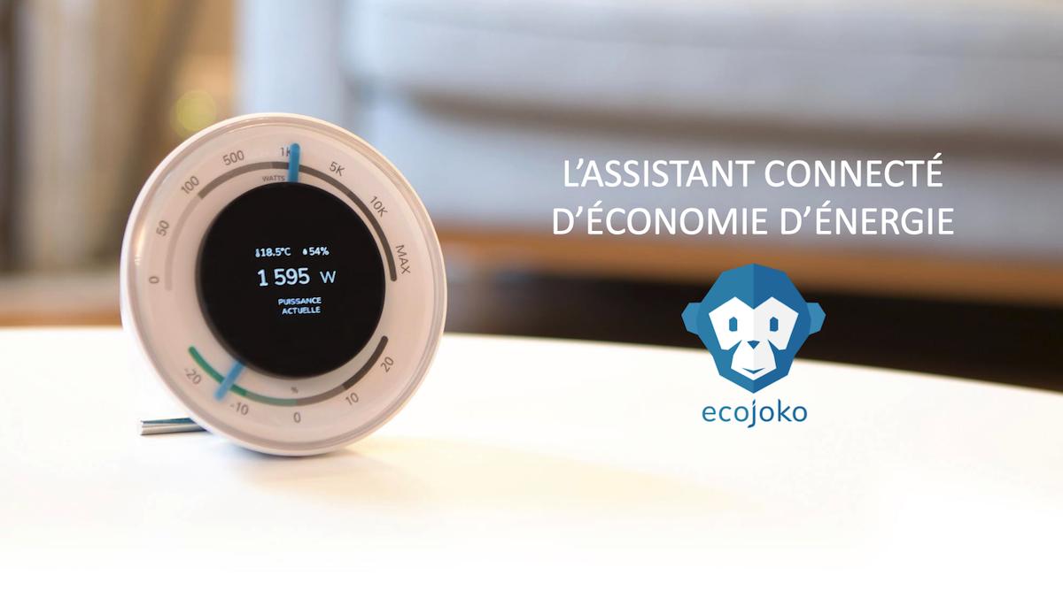 L'assistant connecté Ecojoko pour économiser de l'énergie #CES2021