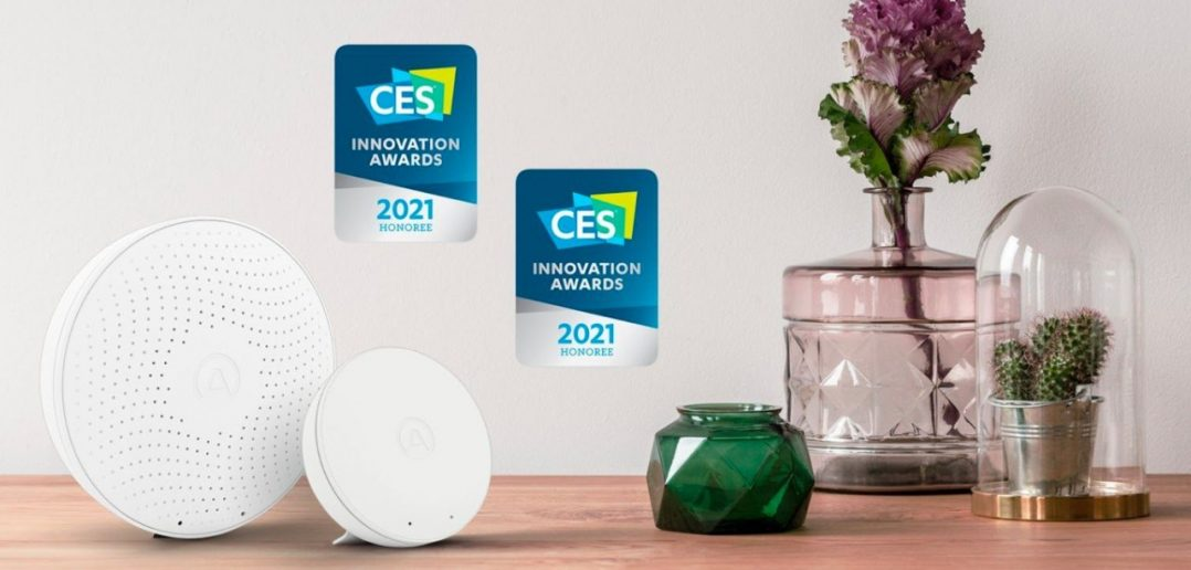featured airthings ces2021 news
