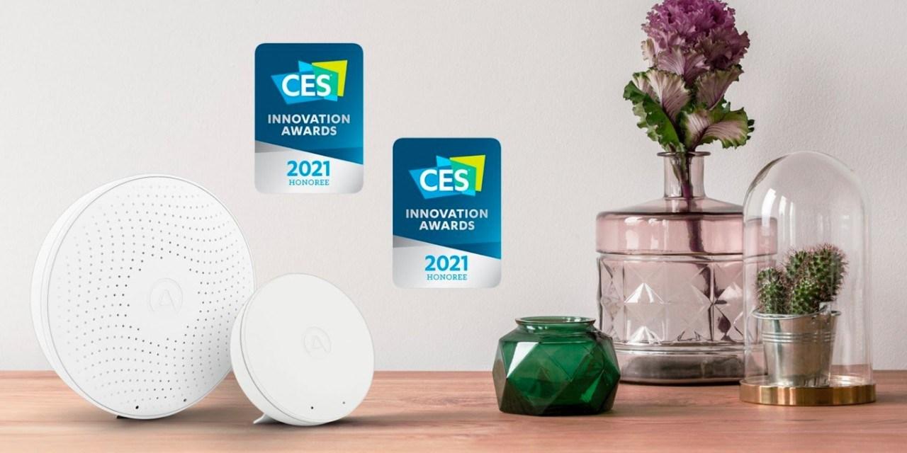 Airthings reçoit deux #CES2021 Innovation Award pour ses capteurs de qualité de l'air Wave Plus et Wave Mini