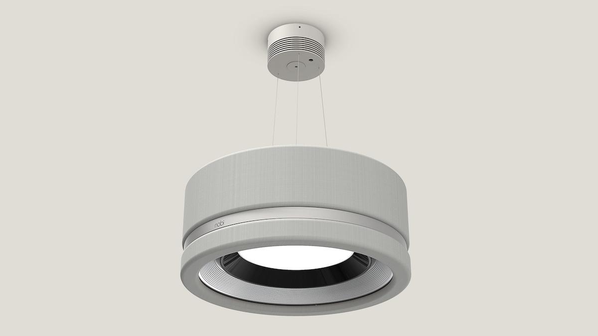Nobi, la lampe intelligente qui aide les personnes âgées en cas de chute #CES2021