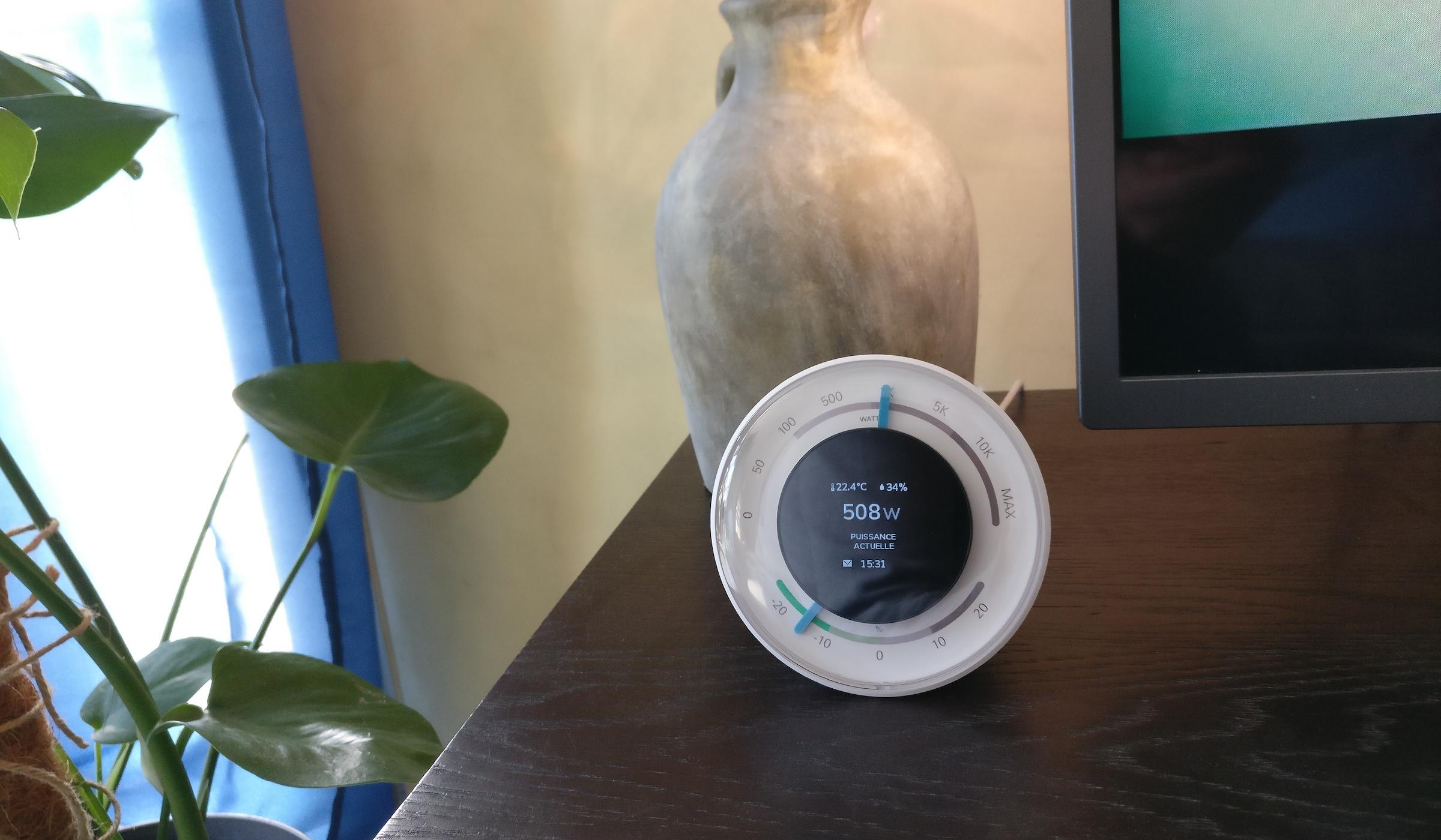 #Test de l'assistant connecté d'économie d'énergie Ecojoko