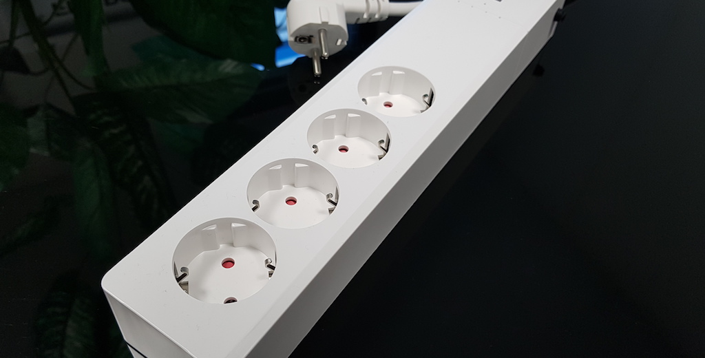 multiprise connectee zigbee 4 prises 2 ports usb jeedom eedomus 4