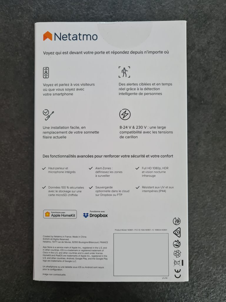 netatmo sonnette video intelligente003