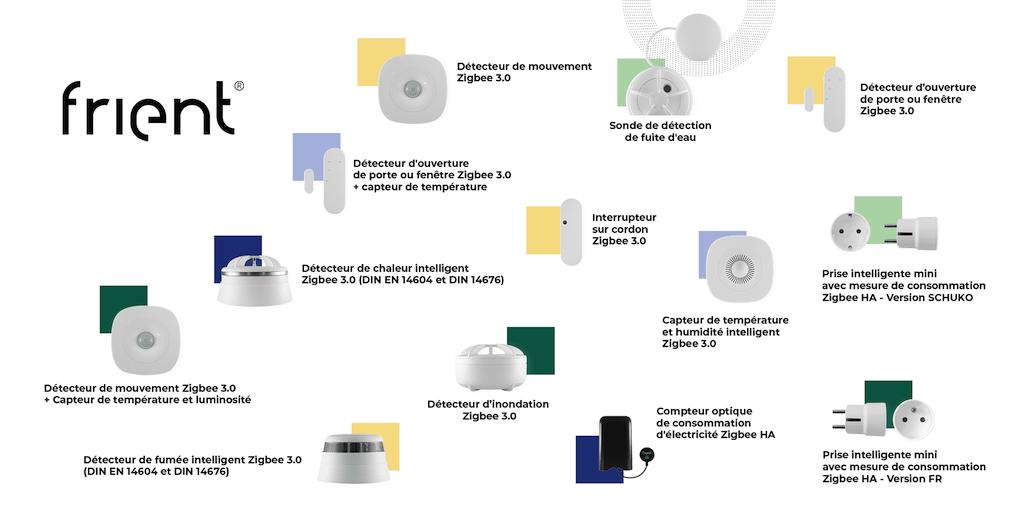 Découverte des périphériques Zigbee de Frient (compatibles Jeedom)