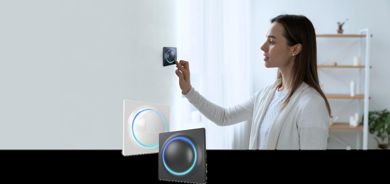 FIBARO dévoile le Walli Controller, un interrupteur sans fil Z-Wave innovant