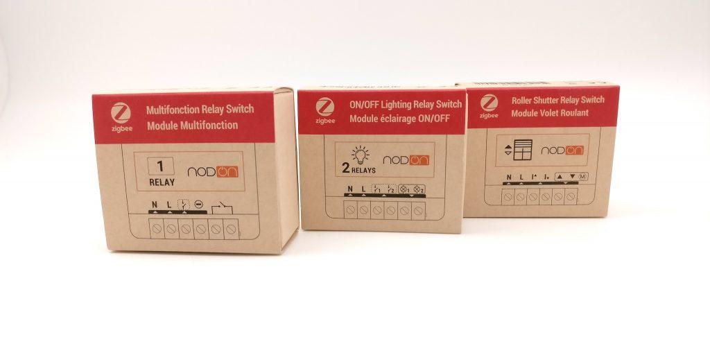 Modules Zigbee de NodOn