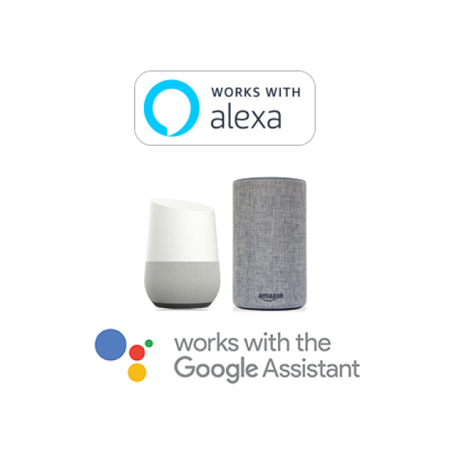 works with alexa google assistant