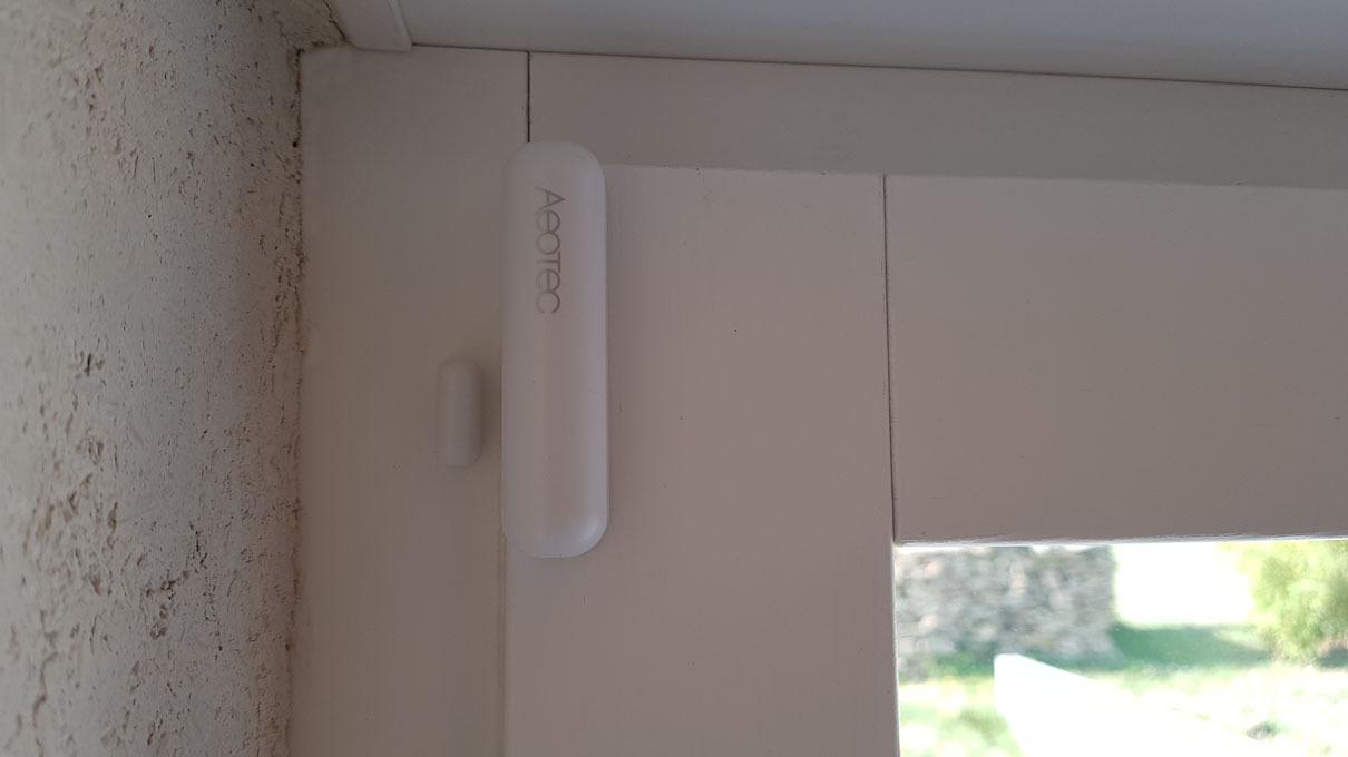 #Test du capteur Z-Wave+ Aeotec Door/Window Sensor 7 (ZWA008)