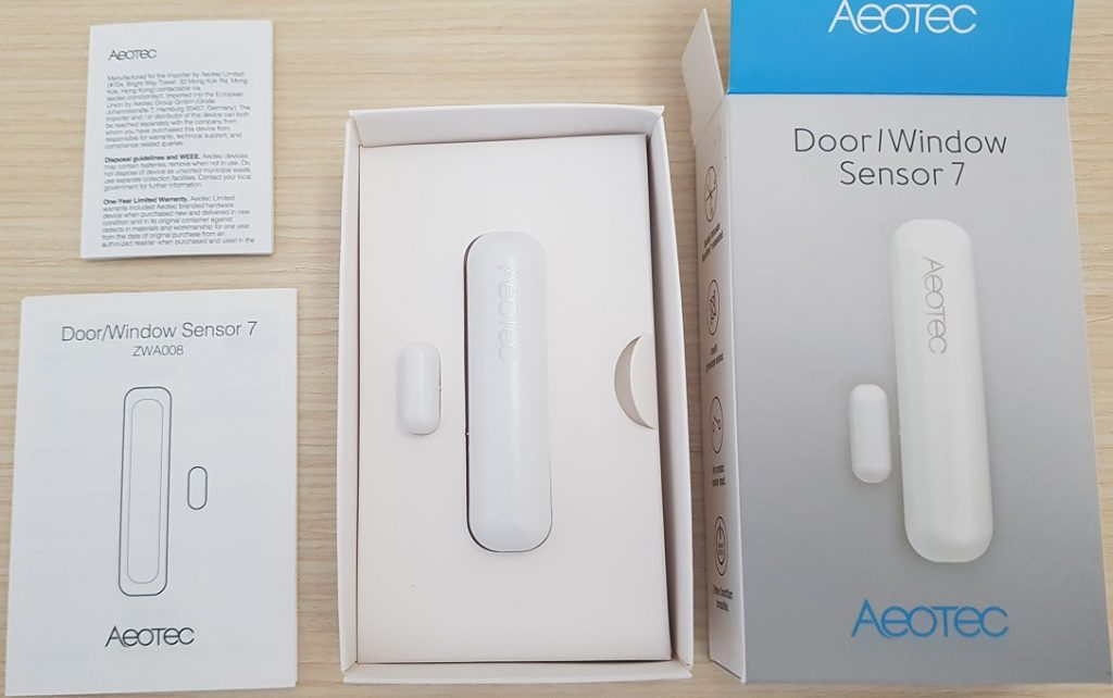 Aeotec Door/Window Sensor 7 (ZWA008)