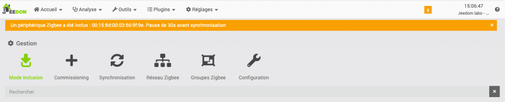 decouverte dispositifs orvibo zigbee compatible jeedom eedomus 5