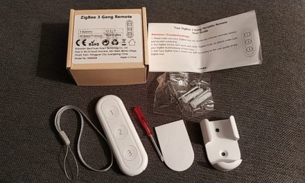 #Test de la télécommande Zigbee Loratap 3 boutons