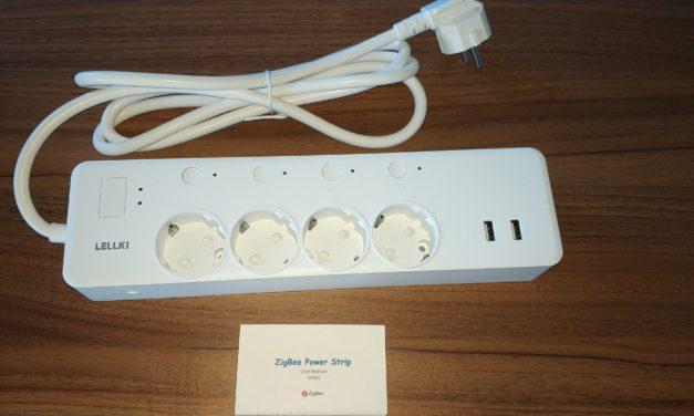 #Test de la multiprise connectée Zigbee 4 prises + 2 ports USB LELLKI