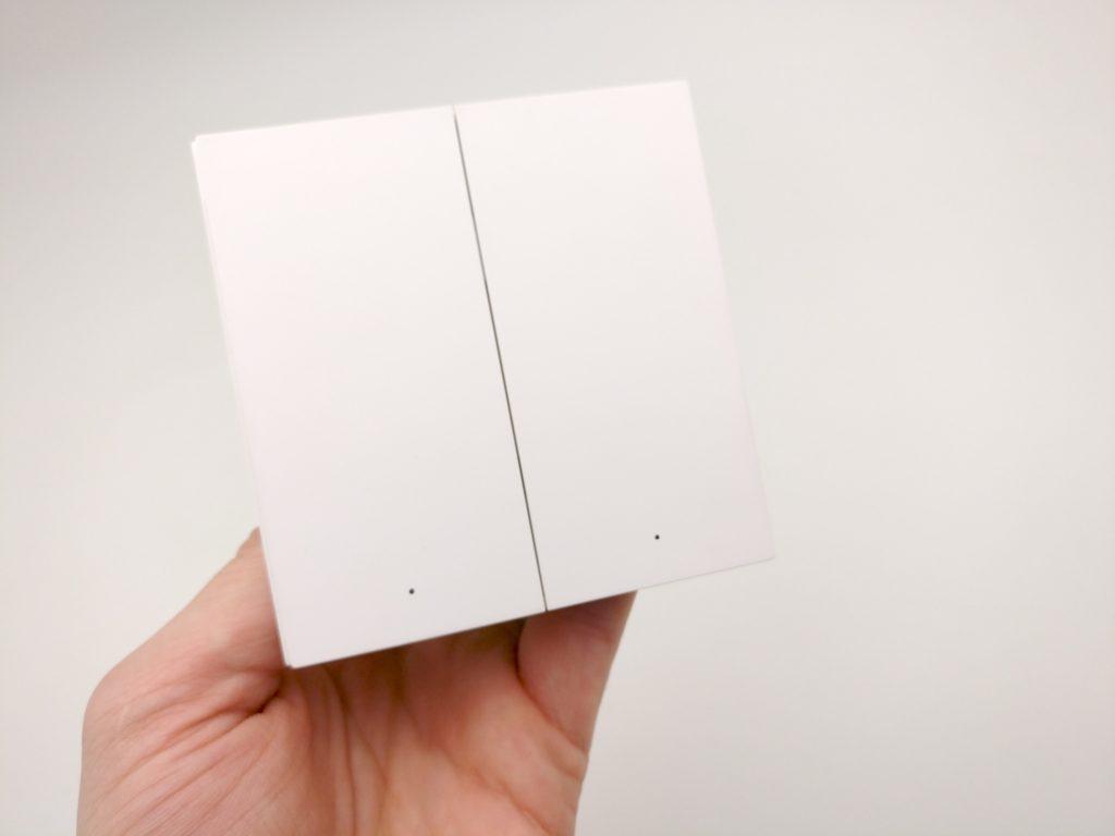 aqara smart wall switch h1 EU unboxing01