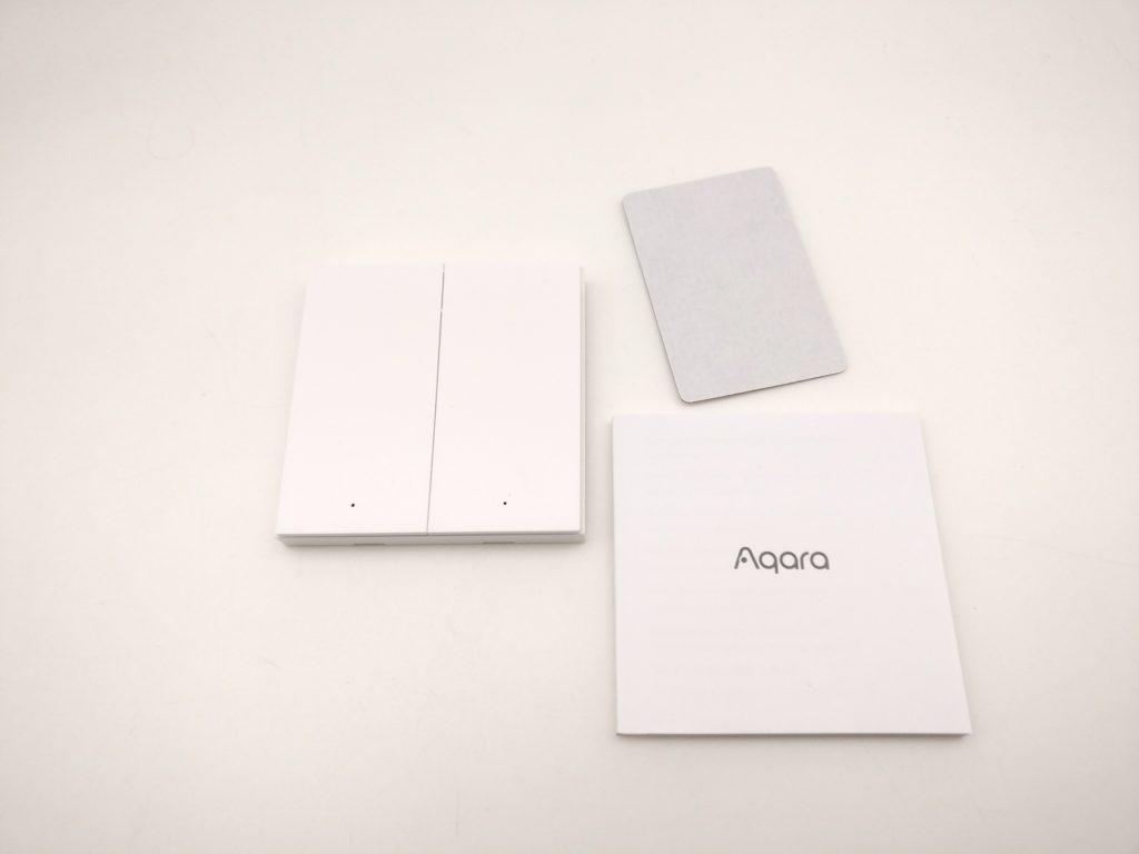 aqara wireless switch h1 contenu