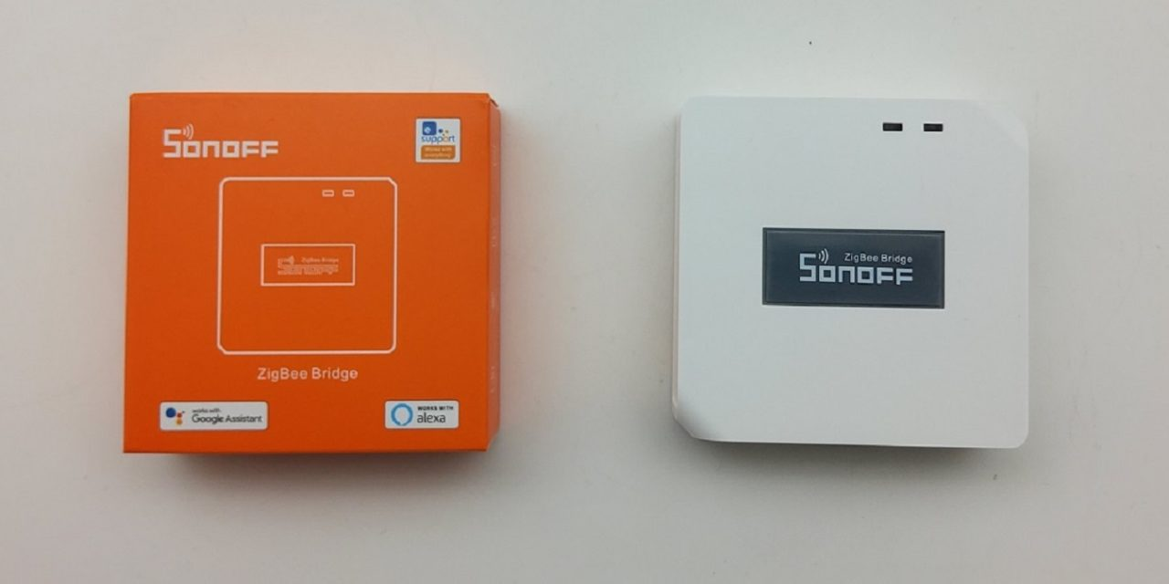 Test de Bridge SonOff, une box domotique Zigbee à moins de 20€