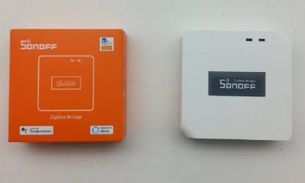 Bridge SonOff, une box domotique Zigbee à moins de 20€