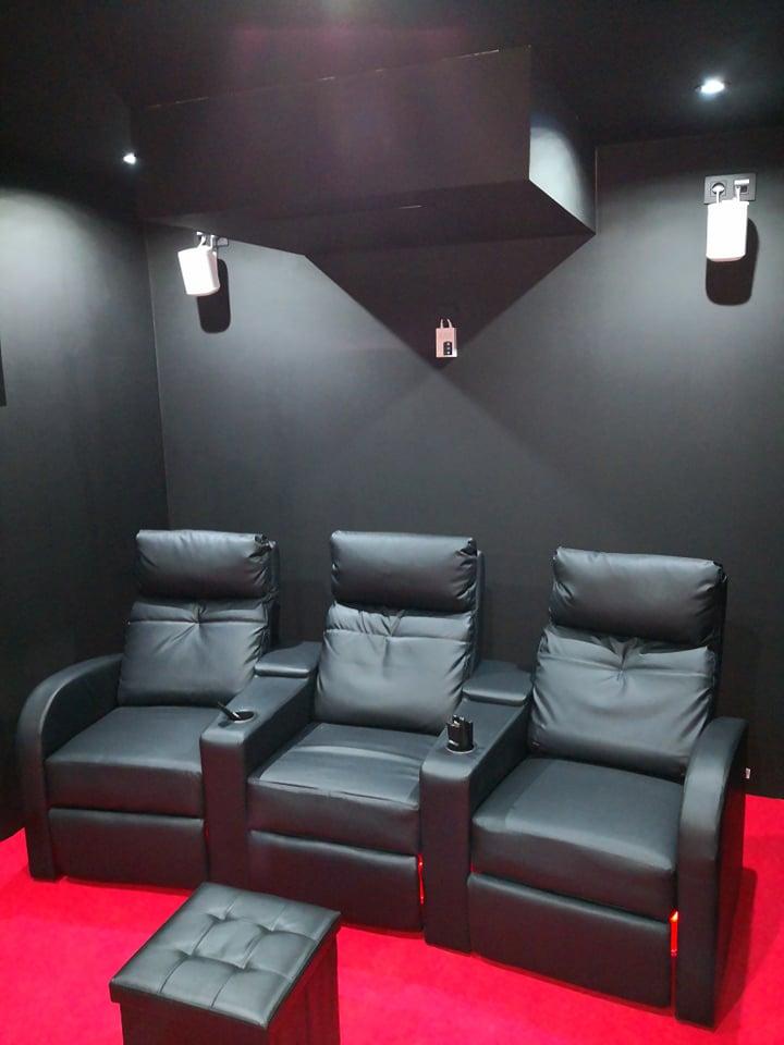 domotique salle de cinema privee jeedom 9