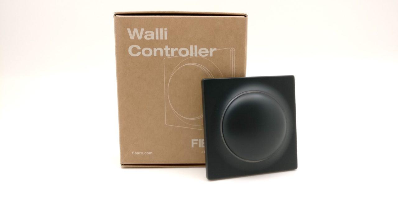 Découverte de l'interrupteur sans fil Z-Wave Fibaro Walli Controller