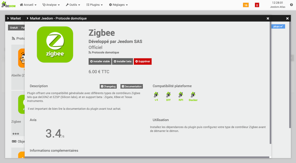 integrer dispositif zigbee jeedom domotique 3