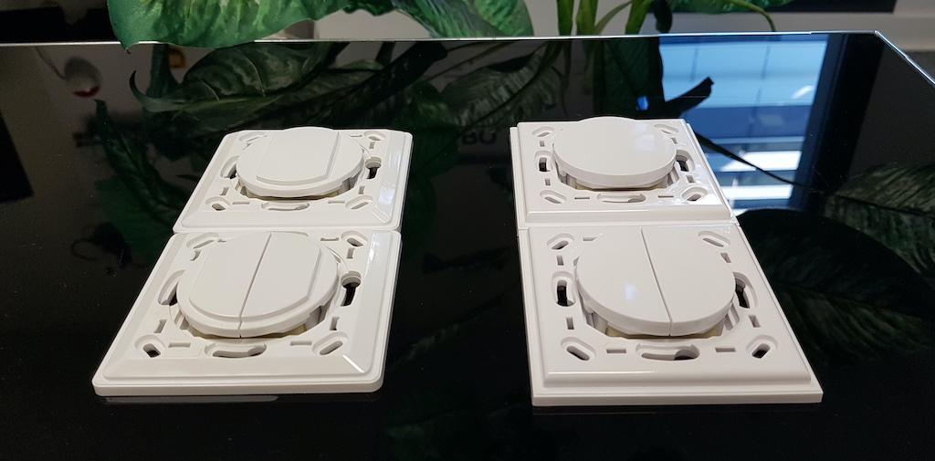 interrupteurs sans fils sans piles green power jeedom trio2sys 4