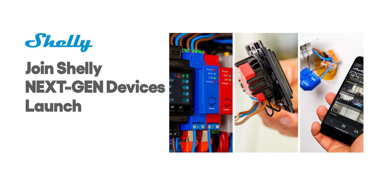 Shelly annonce sa nouvelle génération de modules, et sa gamme Shelly PRO