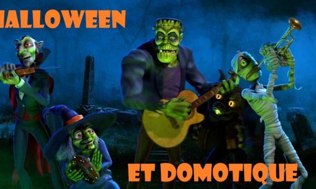 Halloween et la domotique