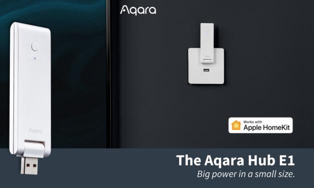 Aqara lance son Hub E1 Zigbee 3.0 alimenté par USB à moins de 30€ !